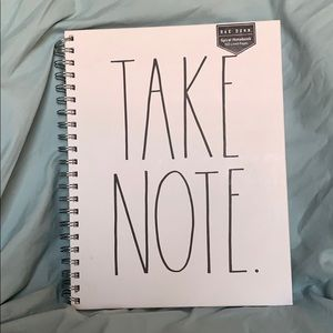 Rae Dunn Take Note Notebook